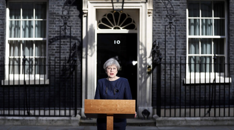 Theresa May speech general election