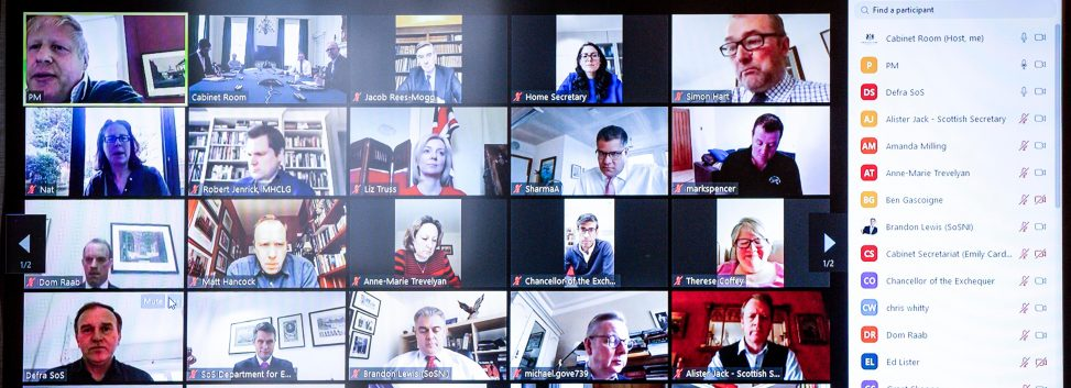 Digital Cabinet video conference