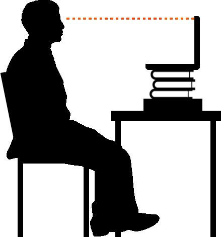 How to position laptop webcam for video conference